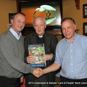 Book Launch, Clarecastle & Ballyea: Land & People – 28/08/2014