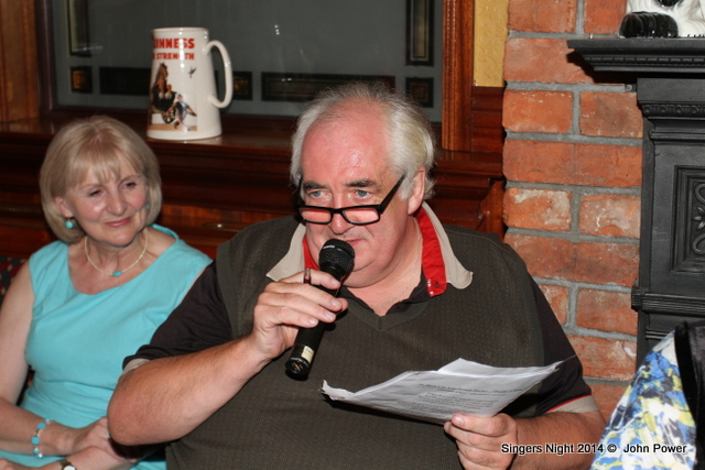 Clarecastle Singers Night 2014