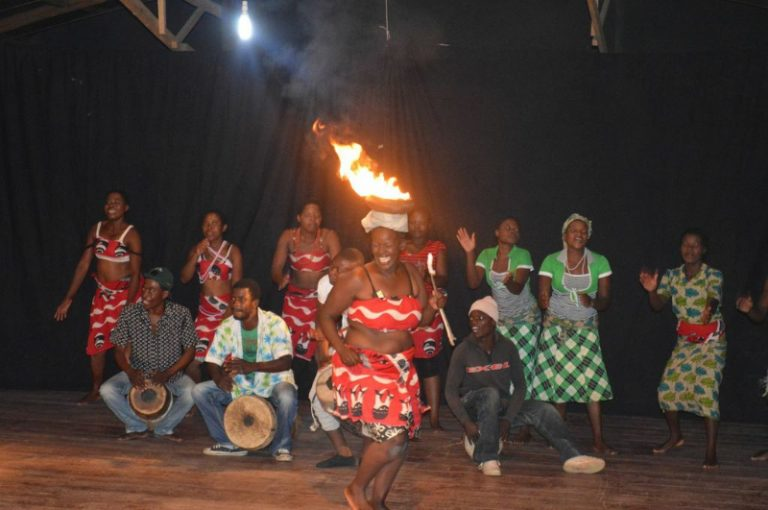 Parishioner, Noirin, visits Trocaire Malawi