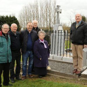 Cholera & Fr O'Brien Ceremony Clarehill