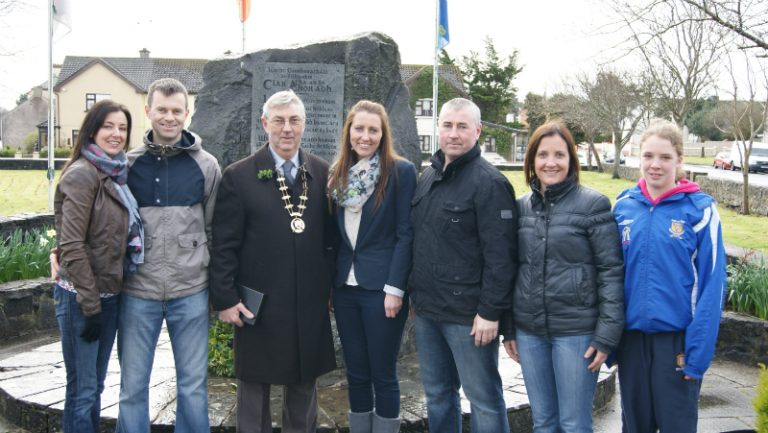 Clarecastle GAA Wreath Laying