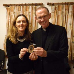 Bishop Fintan Visit