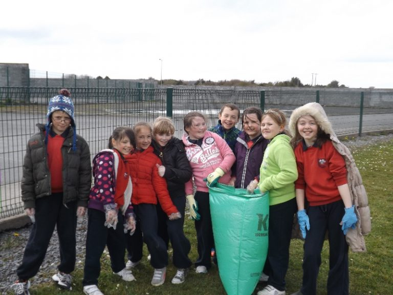 Clarecastle National School - Support Spring Clean Week