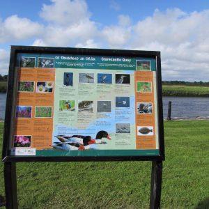New signage at Clarecastle Quay